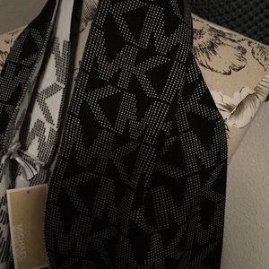 Michael Kors Accessories - Michael Kors Black & white logo scarf